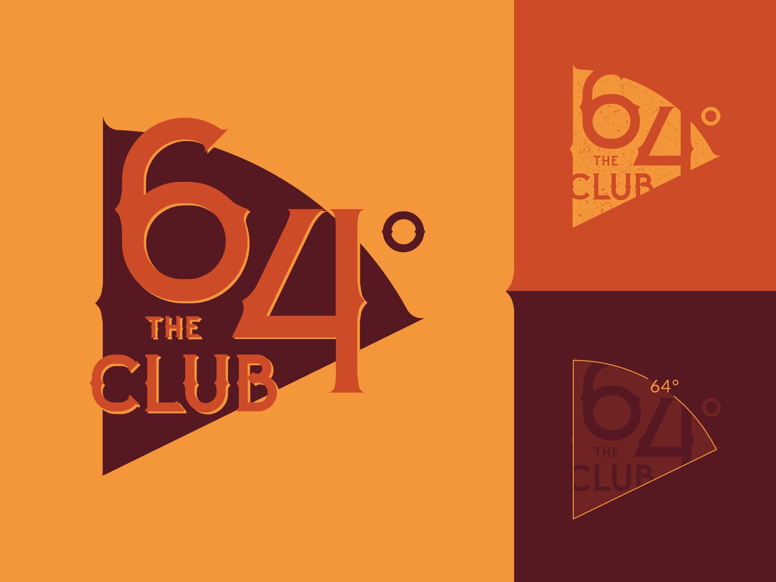 The 64 Club Logo Design