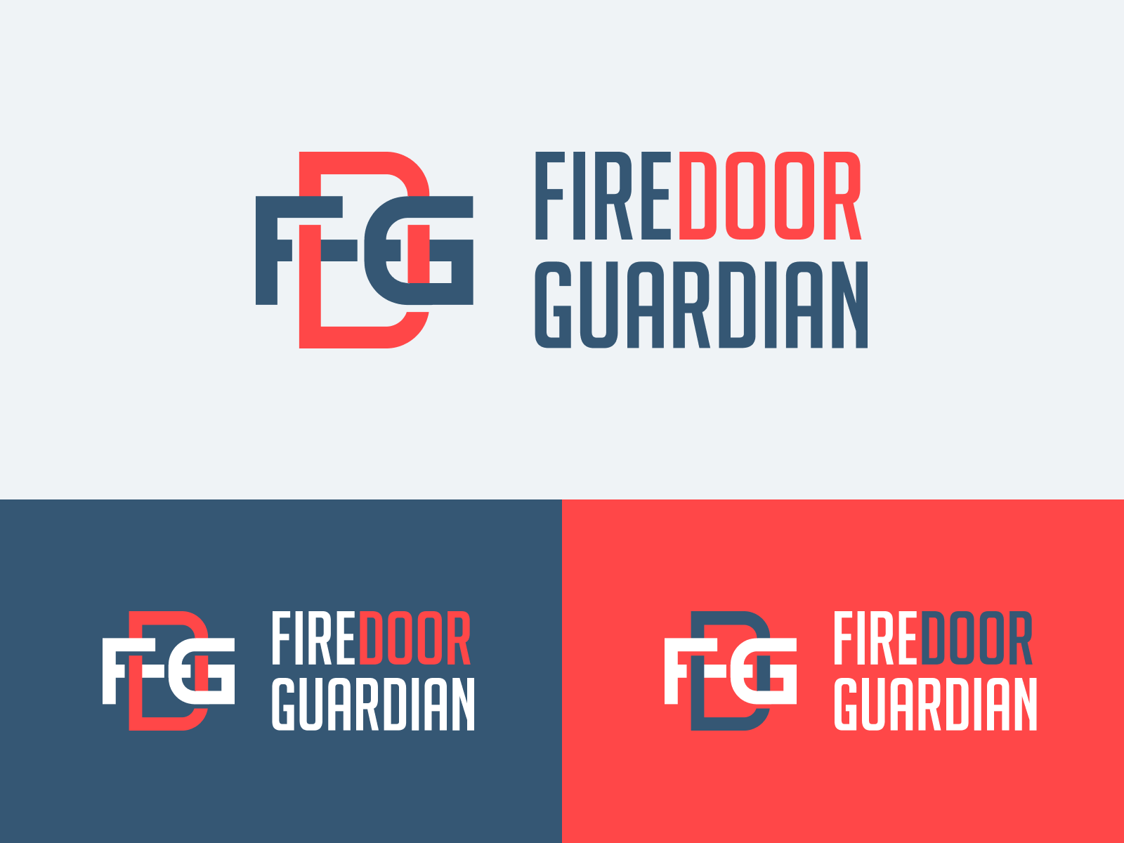 Firedoor Guardian Logo Design