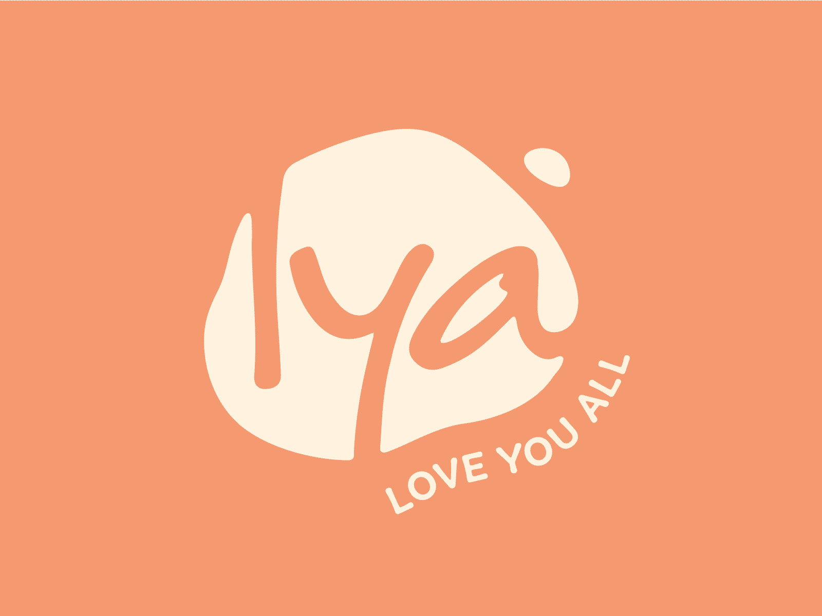Love you all Logo Design