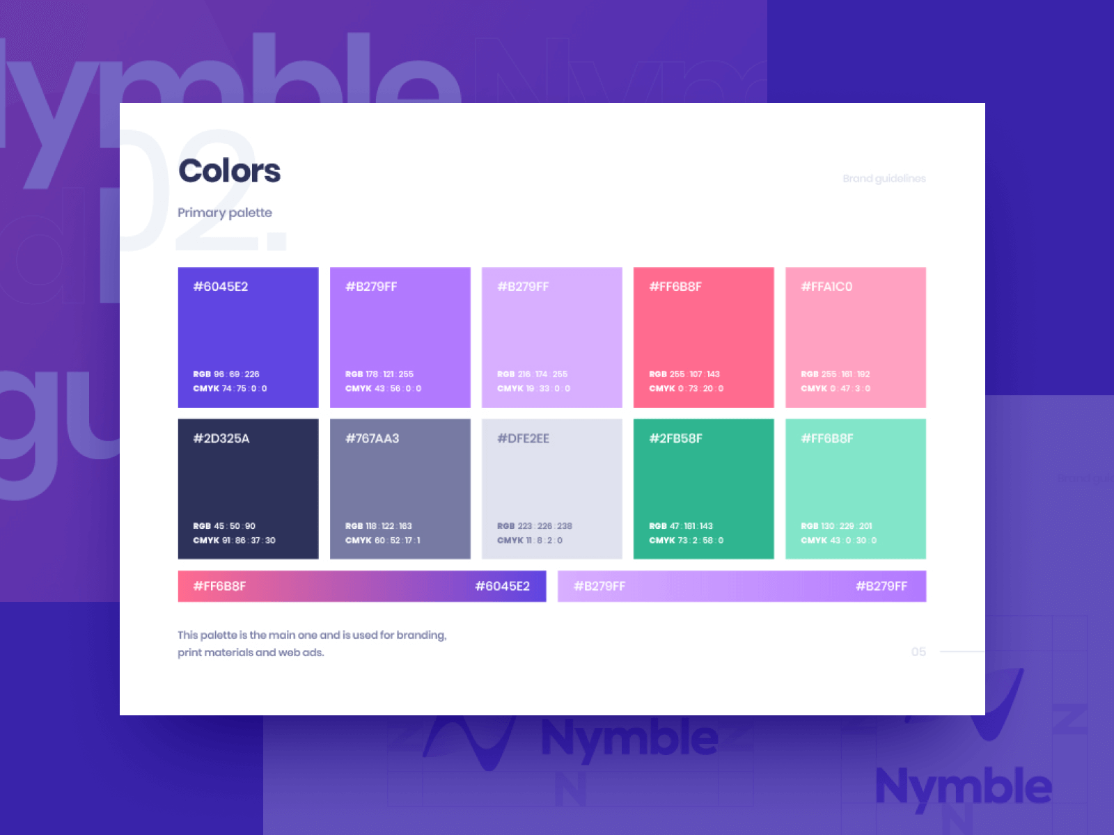 Nymble Brand Book and Guidelines
