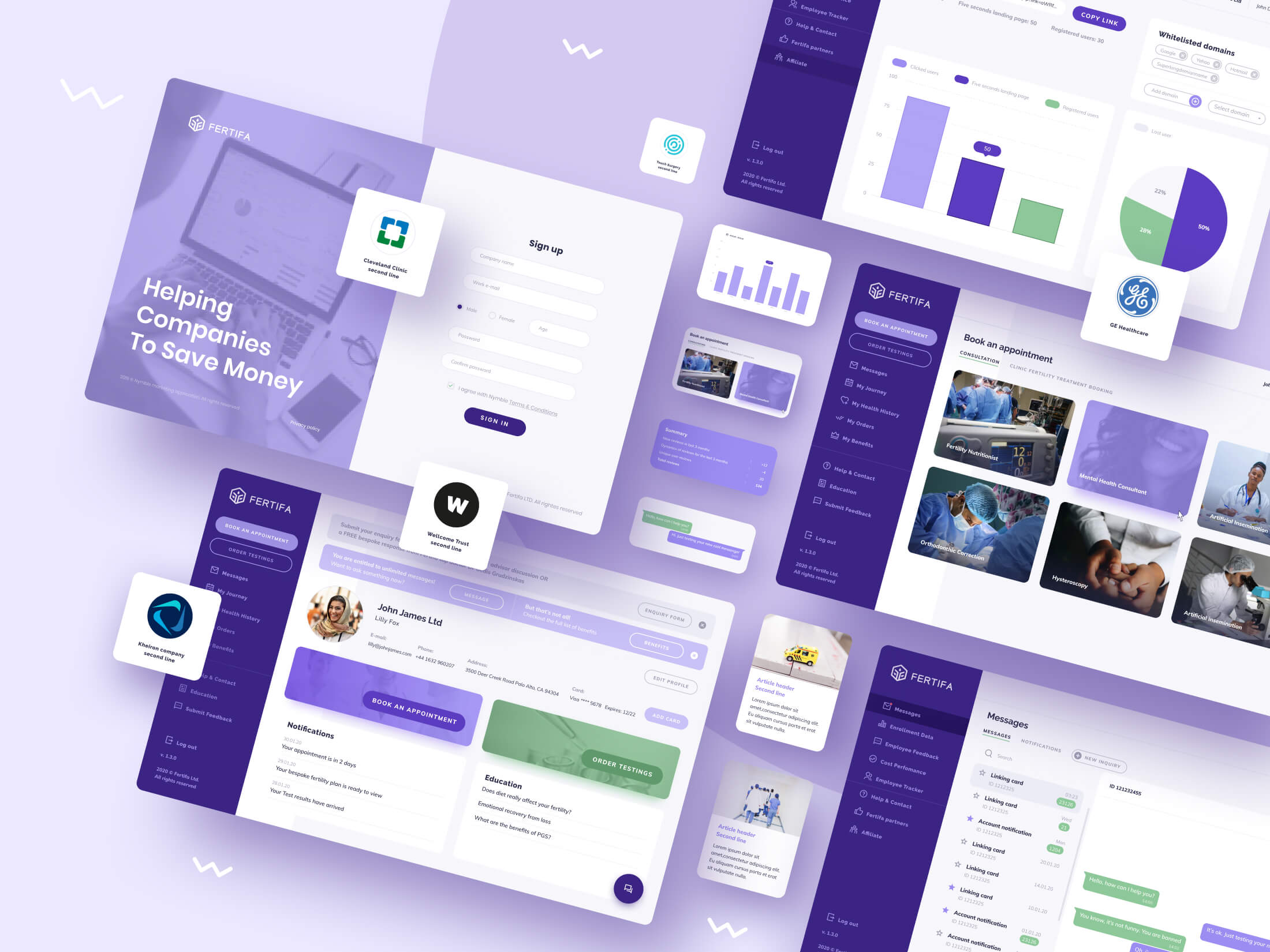 Fertifa Web App Design