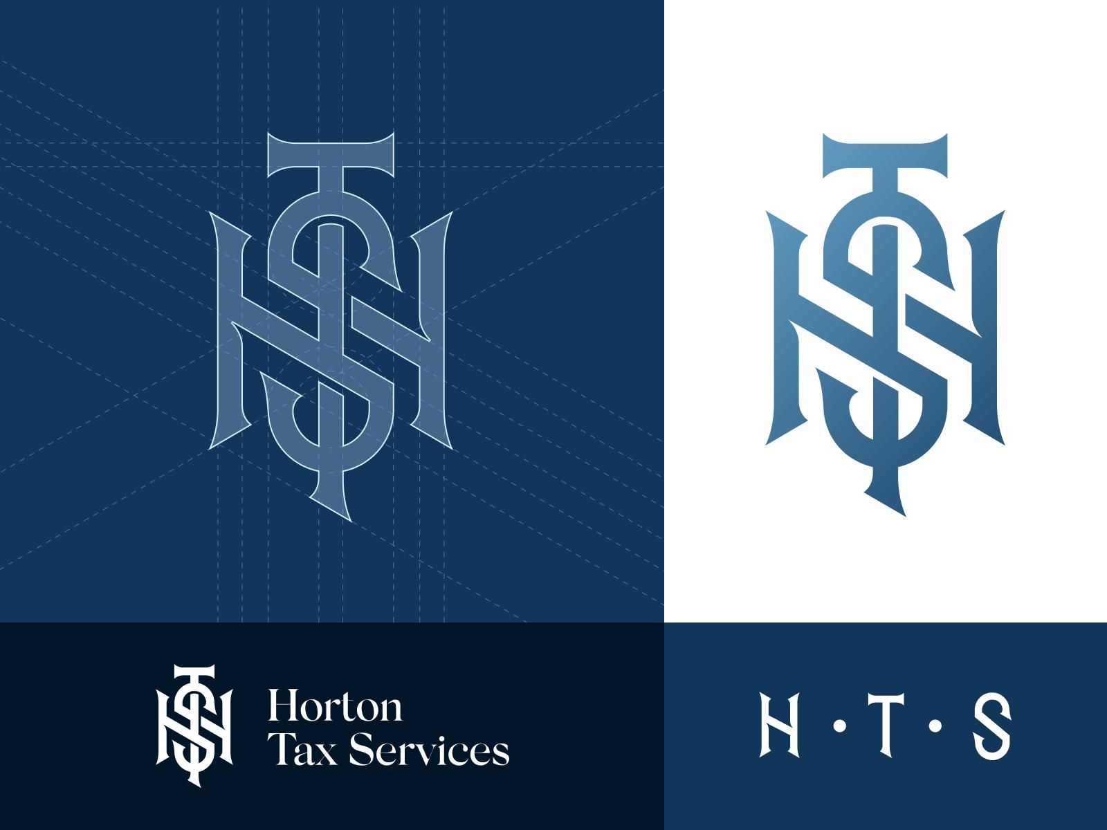 Horton Tax Services Logo Design