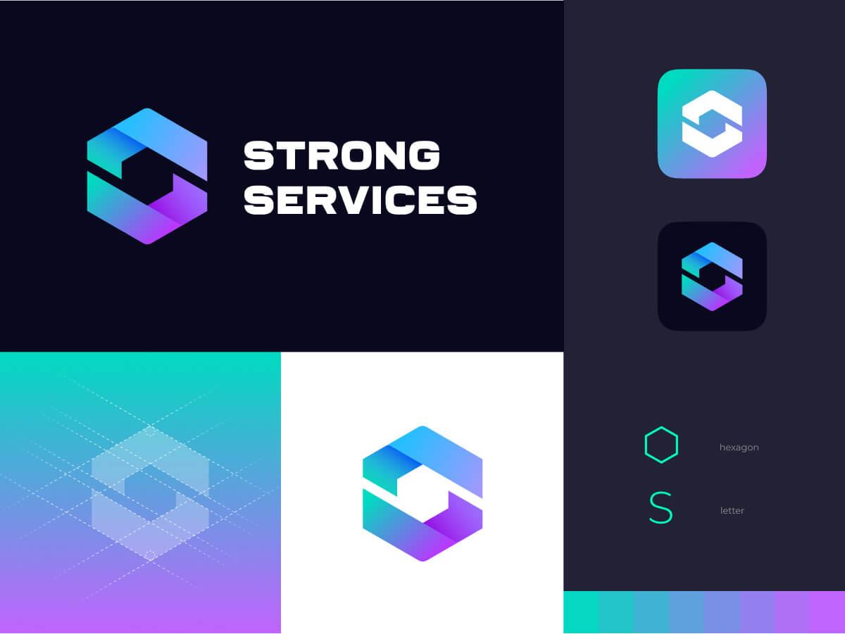 Strong Services Logo Design