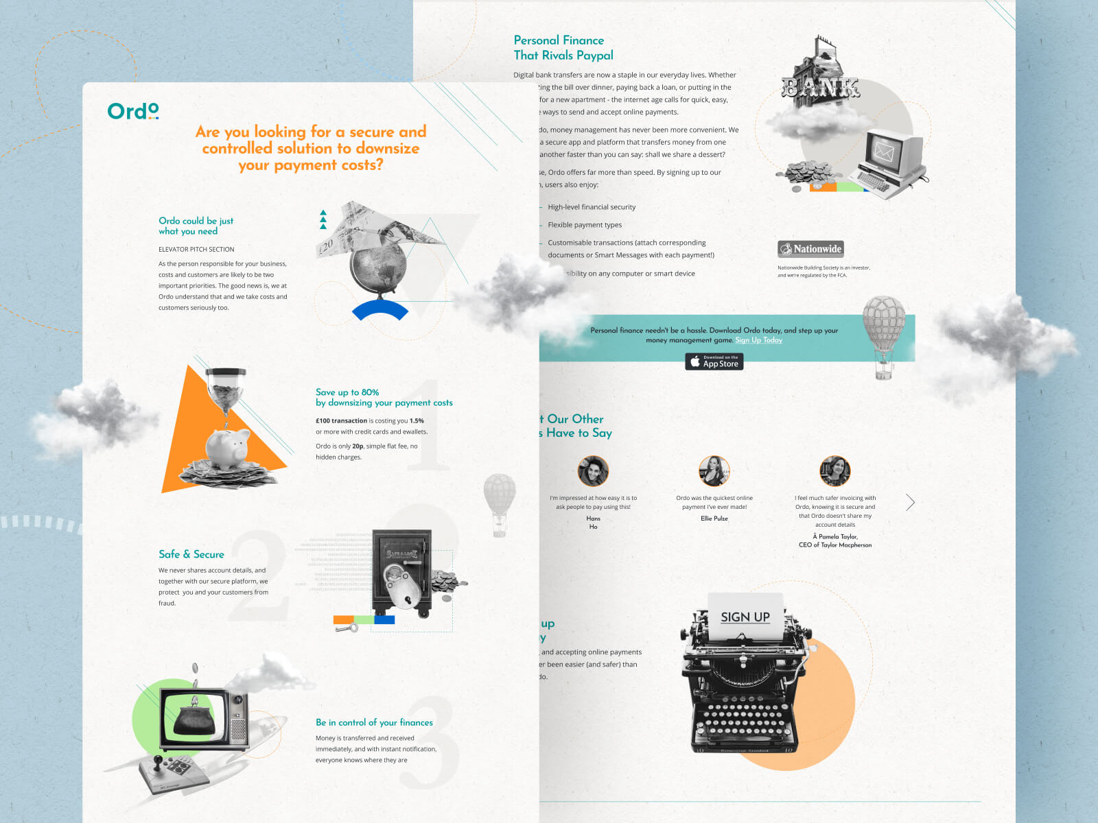 Ordo Website Design and Development
