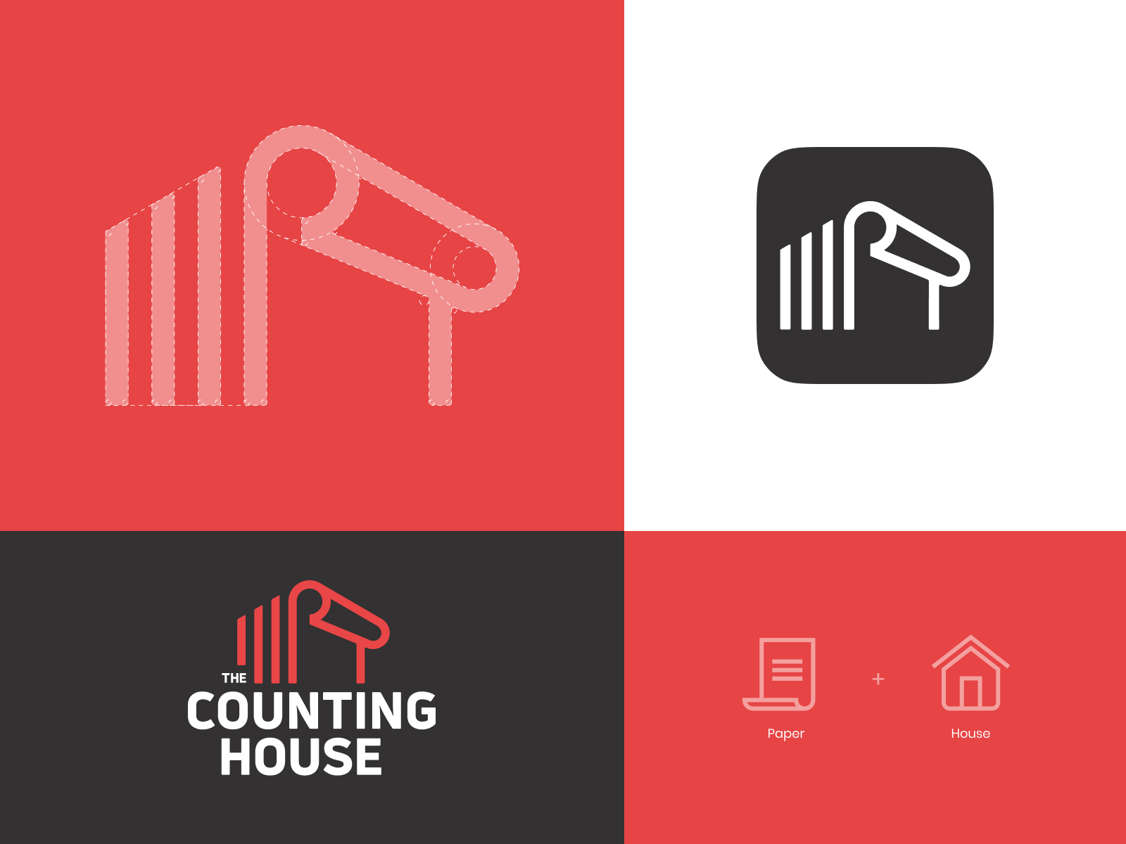The Counting House Logo Design