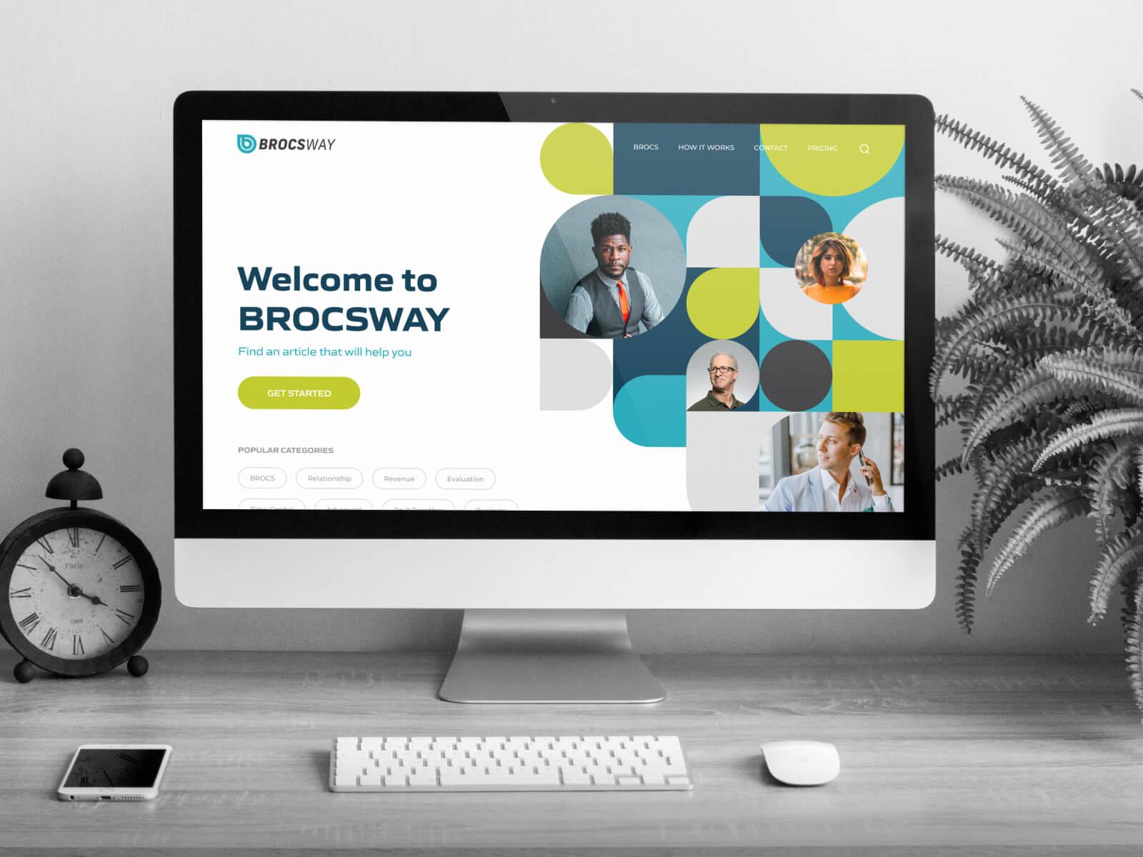 Brocsway Website Design and Development