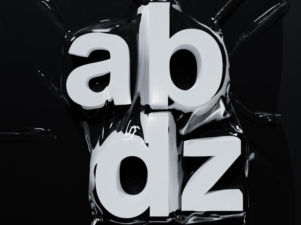 3D Typography Example 7