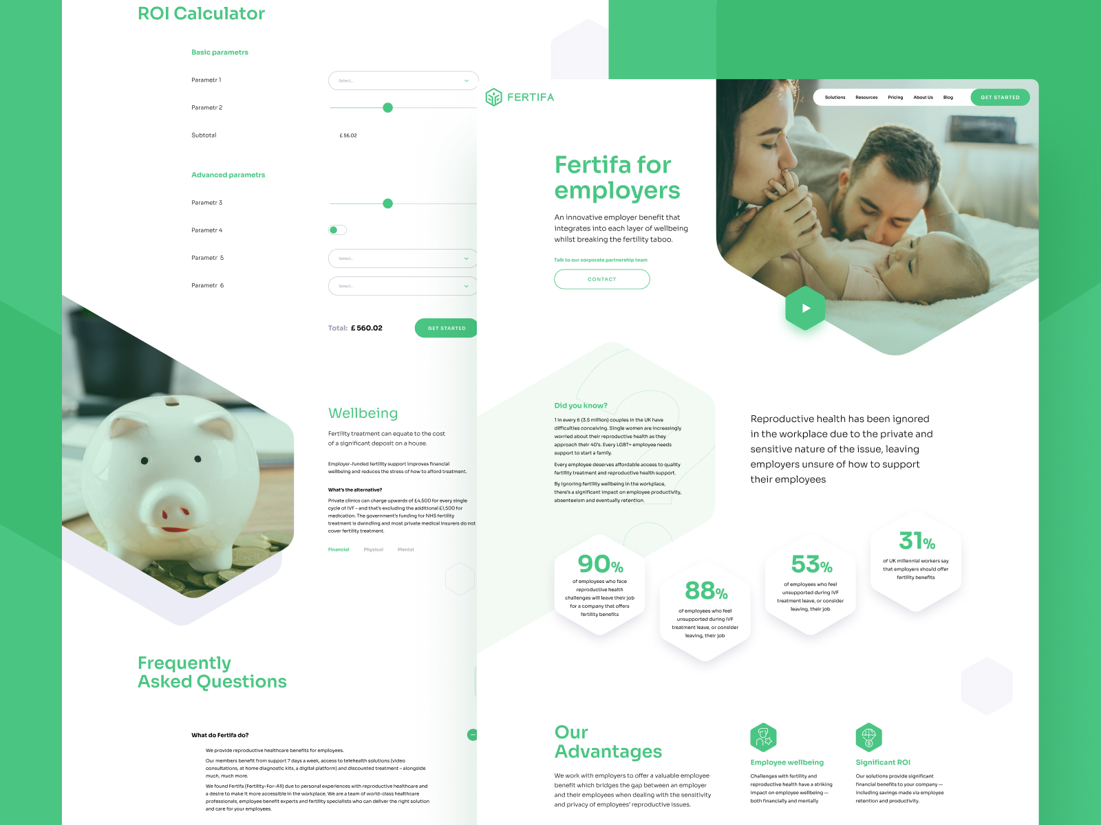 Fertifa Website Design and Development