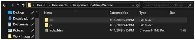 Responsive web design bootstrap