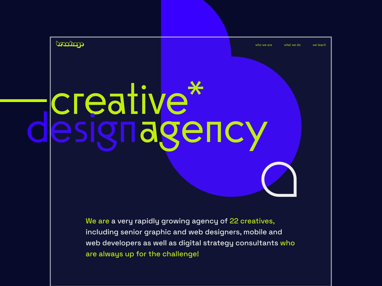 Brandingo website design
